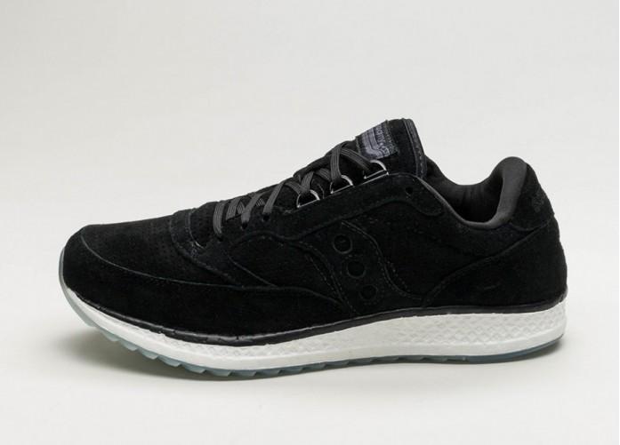 Мужские кроссовки Saucony Freedom Runner (Black)   Интернет-магазин Sole