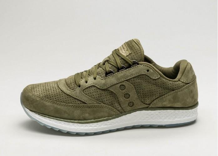 Мужские кроссовки Saucony Freedom Runner (Green)   Интернет-магазин Sole