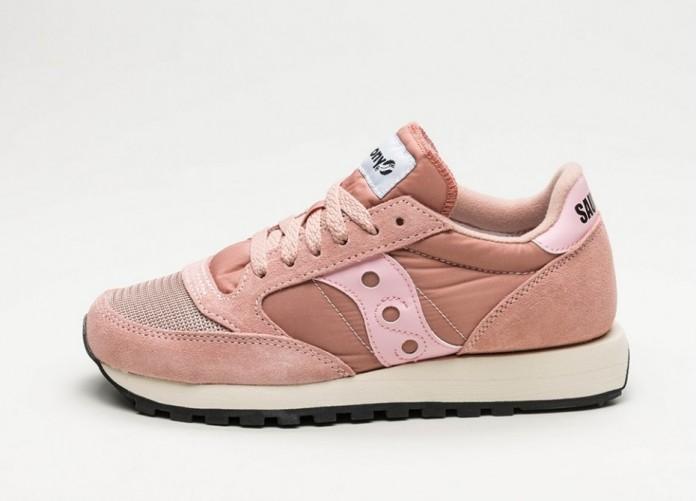 Мужские кроссовки Saucony Jazz Original Vintage (Pink)   Интернет-магазин Sole