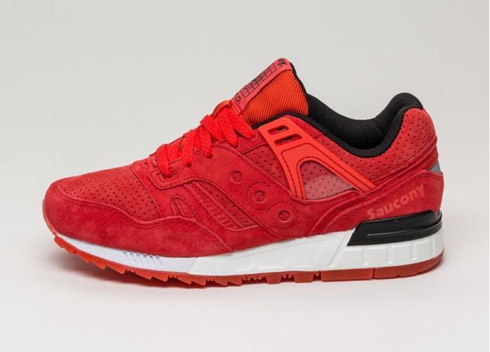 Мужские кроссовки Saucony Grid SD (Red) | Интернет-магазин Sole