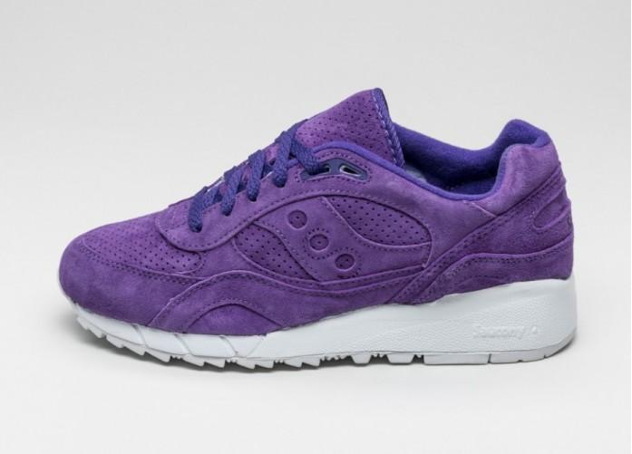 Мужские кроссовки Saucony Shadow 6000 Suede *Egg Hunt* (Purple) | Интернет-магазин Sole