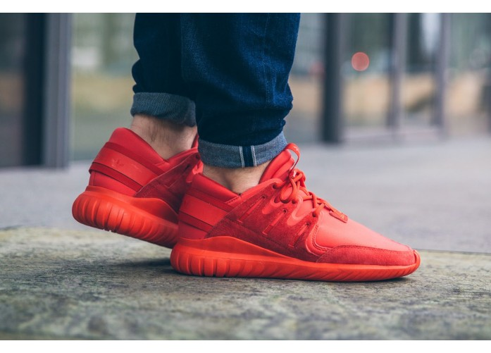 Мужские кроссовки adidas Tubular Nova (Red / Red / Core Black) | Интернет-магазин Sole