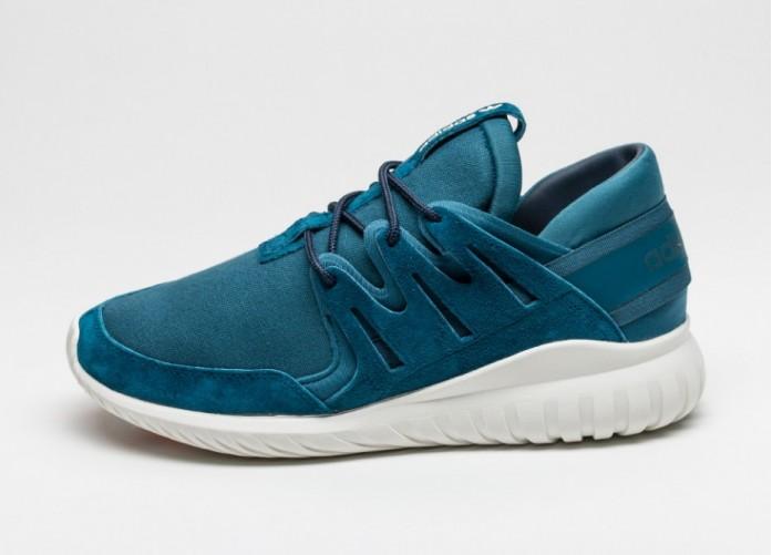 Мужские кроссовки adidas Tubular Nova (Mineral / Collegiate Navy / Off White) | Интернет-магазин Sole