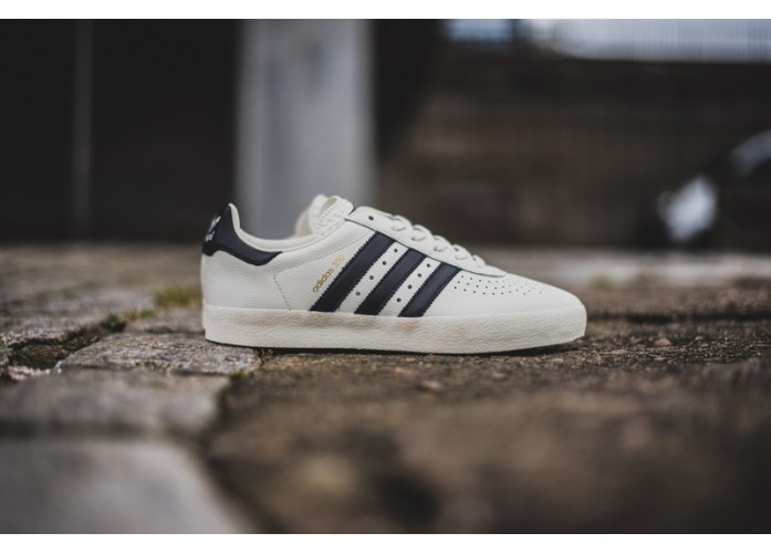 Мужские кроссовки adidas 350 SPZL - Off White/Core Black/Cream White | Интернет-магазин Sole