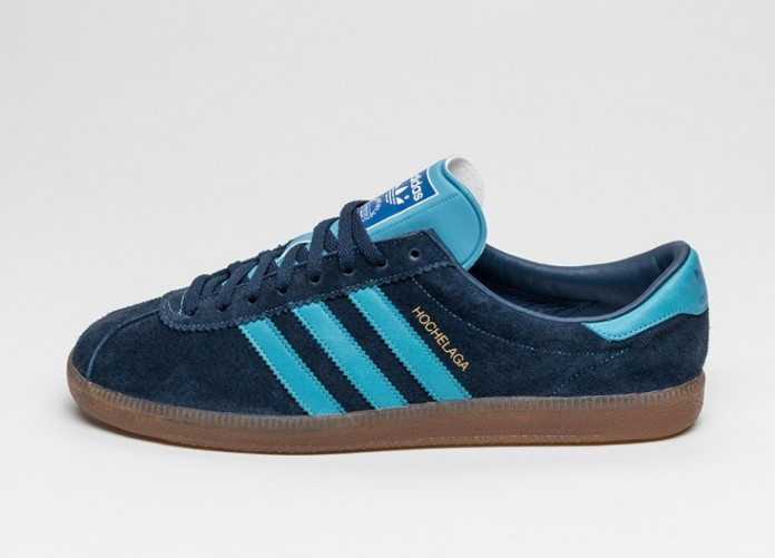 Мужские кроссовки adidas Hochelaga SPZL (Collegiate Navy / Blanche Sea / Collegiate Royal) | Интернет-магазин Sole