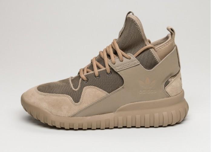 Мужские кроссовки adidas Tubular X (Hemp / Hemp / Ftwr White) | Интернет-магазин Sole