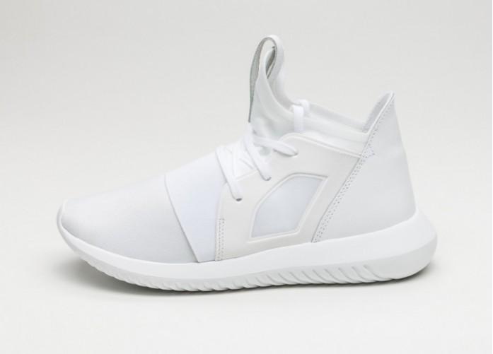Мужские кроссовки adidas Tubular Defiant W (Core White / Core White / Core Black)   Интернет-магазин Sole