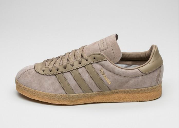 Мужские кроссовки adidas Topanga (Hemp / Hemp / Gum) | Интернет-магазин Sole
