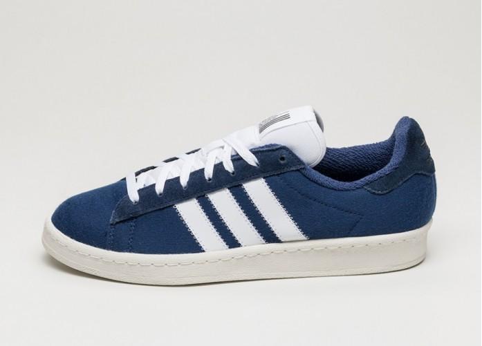 Мужские кроссовки adidas x Bedwin Campus 80s (Dark Blue / Ftw White / Off White) | Интернет-магазин Sole