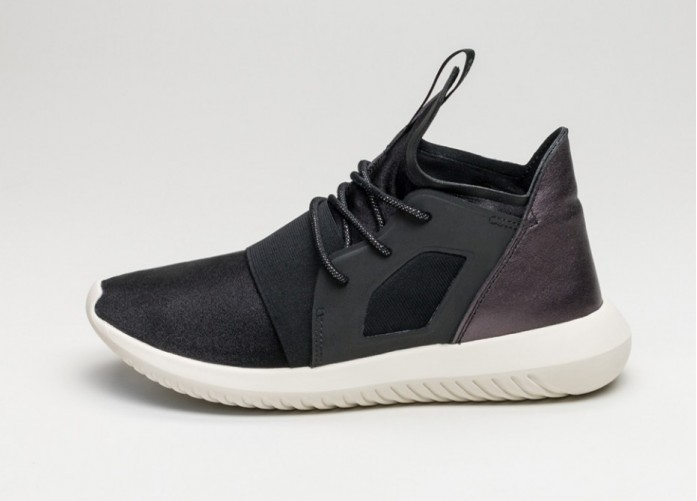Мужские кроссовки adidas Tubular Defiant W (Core Black / Core Black / Core White) | Интернет-магазин Sole
