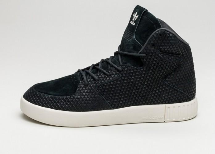 Мужские кроссовки adidas Tubular Invader 2.0 (Core Black / Core Black / Off White) | Интернет-магазин Sole