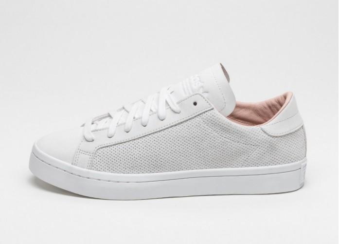 Мужские кроссовки adidas Court Vantage (Vintage White / Vintage White / Dust Pearl) | Интернет-магазин Sole