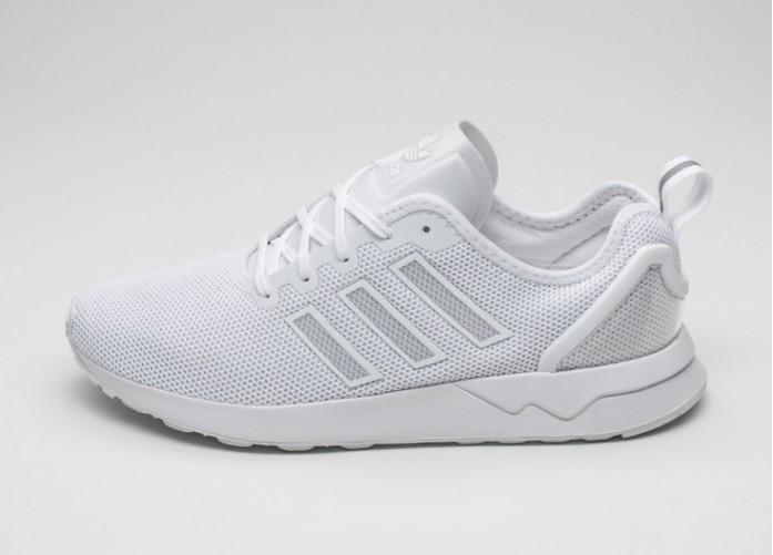 Мужские кроссовки adidas ZX Flux ADV (Ftwr White / Ftwr White / Ftwr White)   Интернет-магазин Sole