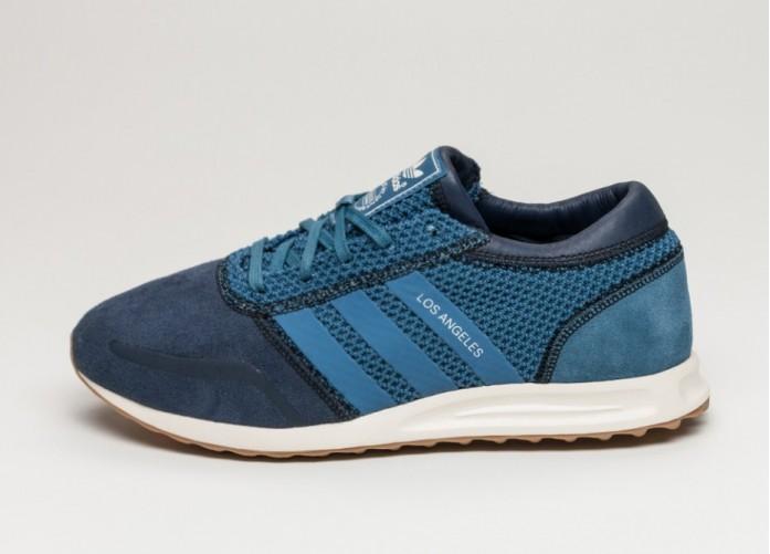 Мужские кроссовки adidas Los Angeles (Collegiate Navy / Ash Blue / Ftwr White) | Интернет-магазин Sole