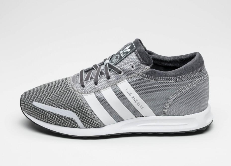 e3b8a3f6f64f31 Мужские кроссовки adidas Los Angeles (Mgh Solid Grey / Vintage White / Light  Solid Grey