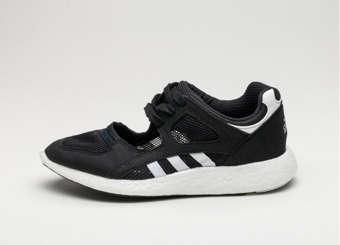 Мужские кроссовки adidas Equipment Racing 91/16 W (Core Black / Ftwr White / Ftwr White) | Интернет-магазин Sole