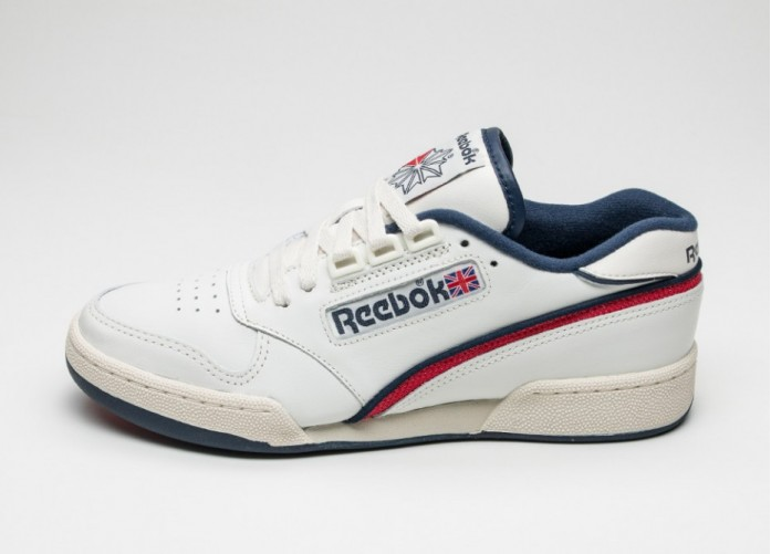 Мужские кроссовки Reebok ACT 600 85 (Chalk / Paperwhite / Excellent Red / Collegiate Navy)   Интернет-магазин Sole