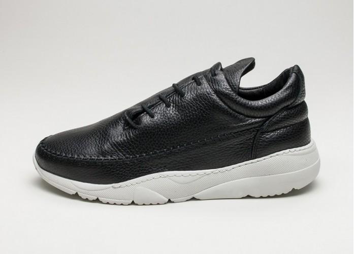 Женские кроссовки Filling Pieces Apache Runner Low (Black / White) - Women - Sneaker | Интернет-магазин Sole