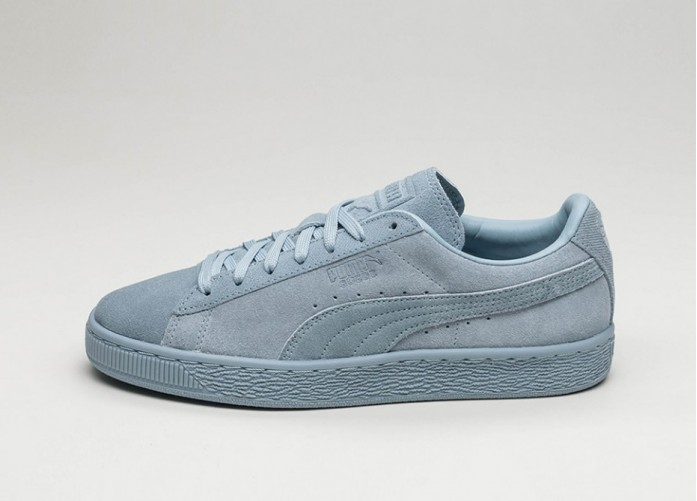 Женские кроссовки Puma Suede Classic Tonal (Blue Fog) - Women - Sneaker | Интернет-магазин Sole