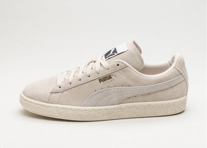 Женские кроссовки Puma Suede Classic+ (Birch / Puma White) - Women - Sneaker   Интернет-магазин Sole