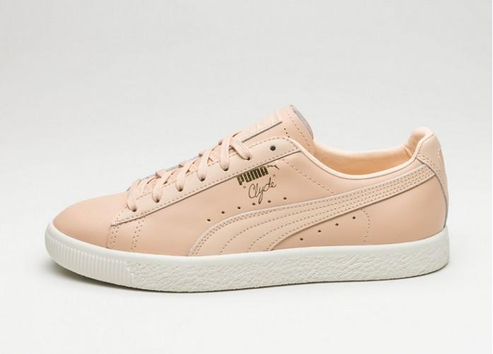 Женские кроссовки Puma Clyde Natural (Natural Vachetta) - Women - Sneaker   Интернет-магазин Sole