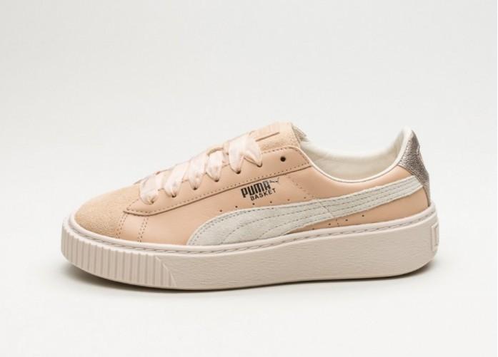 Женские кроссовки Puma Platform Up (Natural Vachetta / Birch) - Women - Sneaker | Интернет-магазин Sole