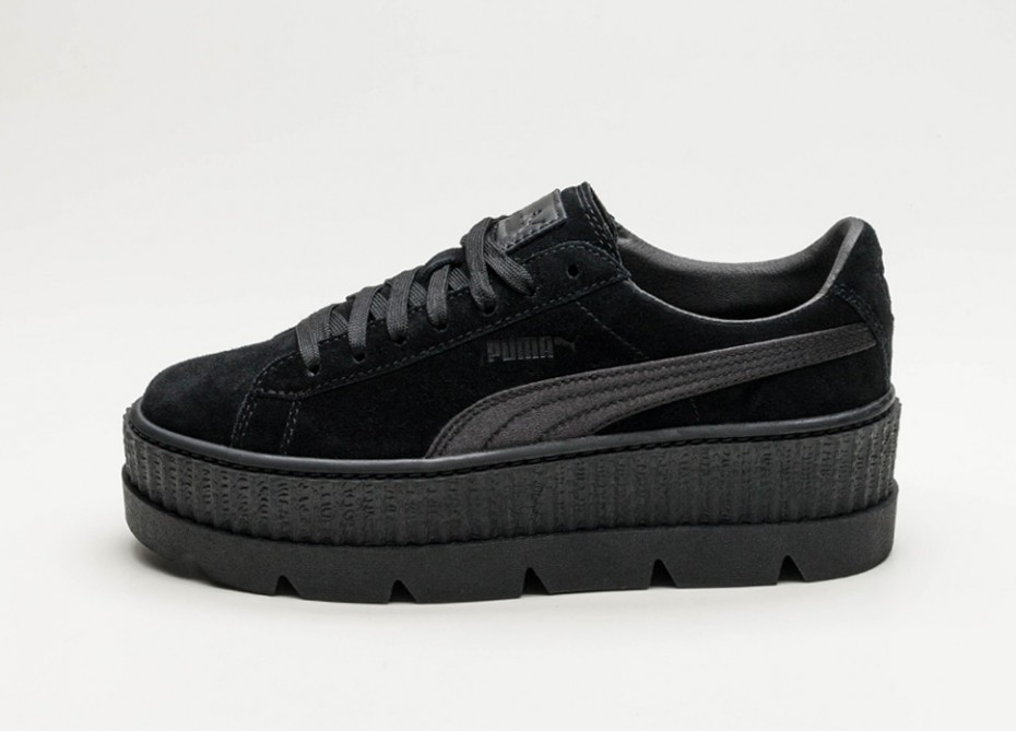 new style 5ebdc 1ca76 Женские кроссовки Puma x Fenty Cleated Creeper Suede (Puma Black) - Women -  Sneaker