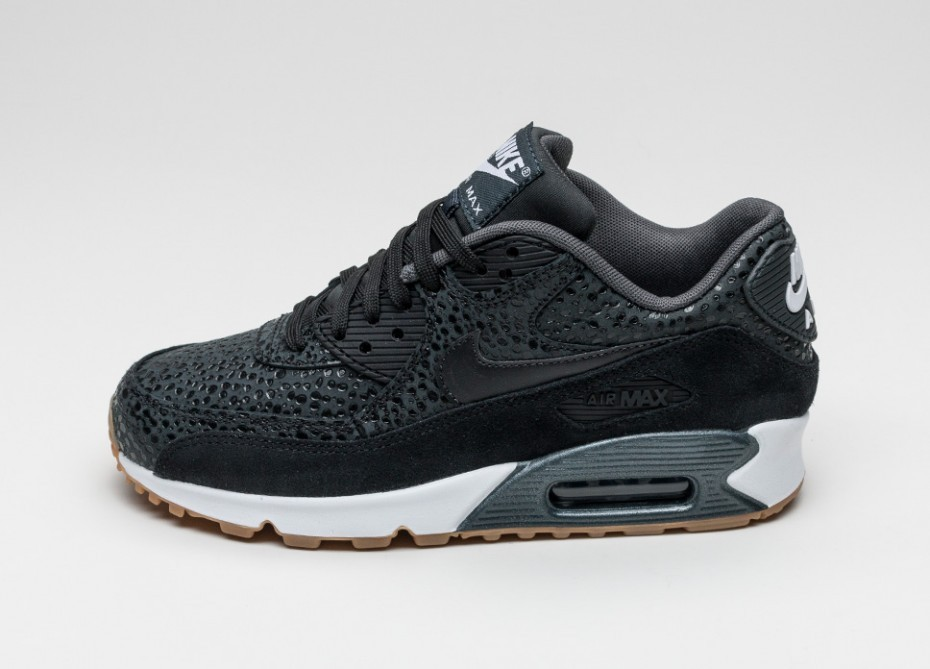 efc1aaff4b52 Женские кроссовки Nike Wmns Air Max 90 Premium (Black   Black - Black -  White