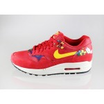 Женские кроссовки Nike Wmns Air Max 1 Print *Aloha Pack* (University Red / True Yellow - Sail - Black), фото 1 | Интернет-магазин Sole