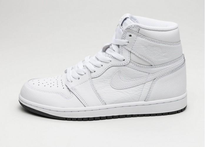 Женские кроссовки Nike Air Jordan 1 Retro High OG (White / Black - White) - Women - Sneaker | Интернет-магазин Sole