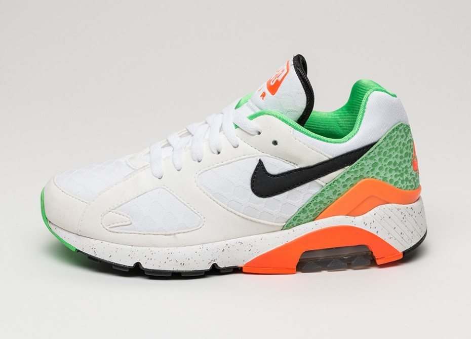 16861c606 Женские кроссовки Nike Air Max 180  AIR180  (WHITE   BLACK - TOTAL CRIMSON
