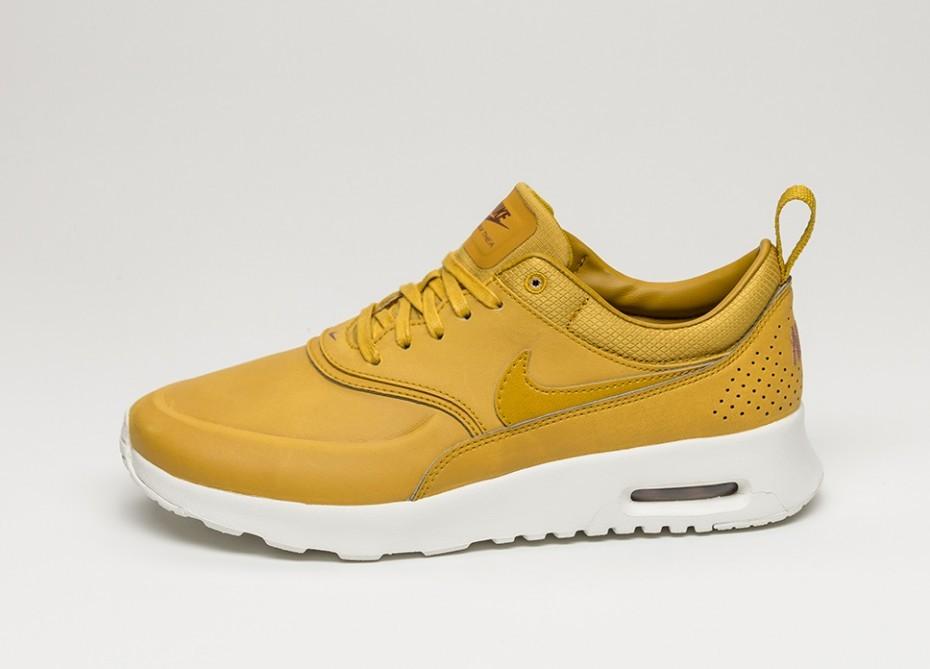 sale retailer 7173d a3d00 Женские кроссовки Nike Wmns Air Max Thea PRM (Dark Citron   Dark Citron -  Sail
