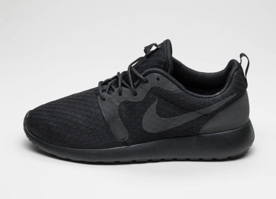 3086cfd1 Женские кроссовки Nike Roshe Run Hyp (Black / Black) | Интернет-магазин Sole