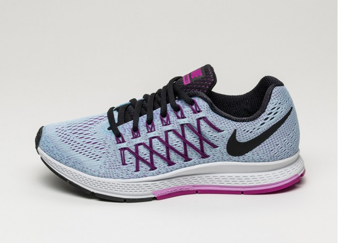 Женские кроссовки Nike Wmns Air Zoom Pegasus 32 (Copa / Black - Fuchsia Glow)   Интернет-магазин Sole