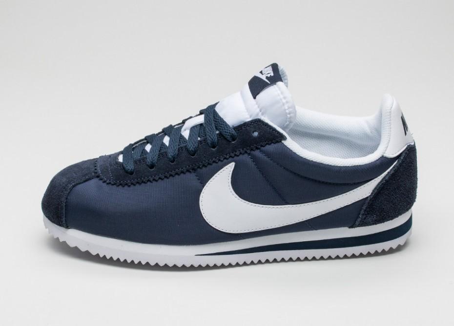 sports shoes 623cb e01a8 Женские кроссовки Nike Classic Cortez Nylon (Obsidian   White)    Интернет-магазин Sole