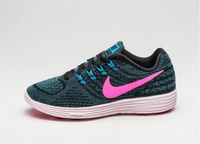 Женские кроссовки Nike Wmns Lunartempo 2 (Blue Glow / Pink Blast - Black - Pearl Pink) | Интернет-магазин Sole