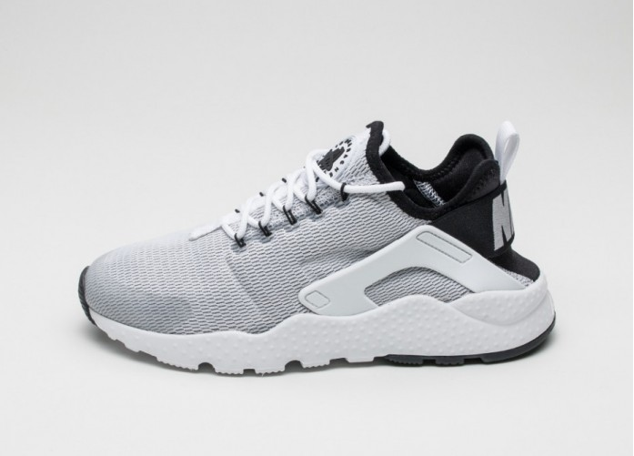 Женские кроссовки Nike Wmns Air Huarache Run Ultra (White / White - Black) | Интернет-магазин Sole