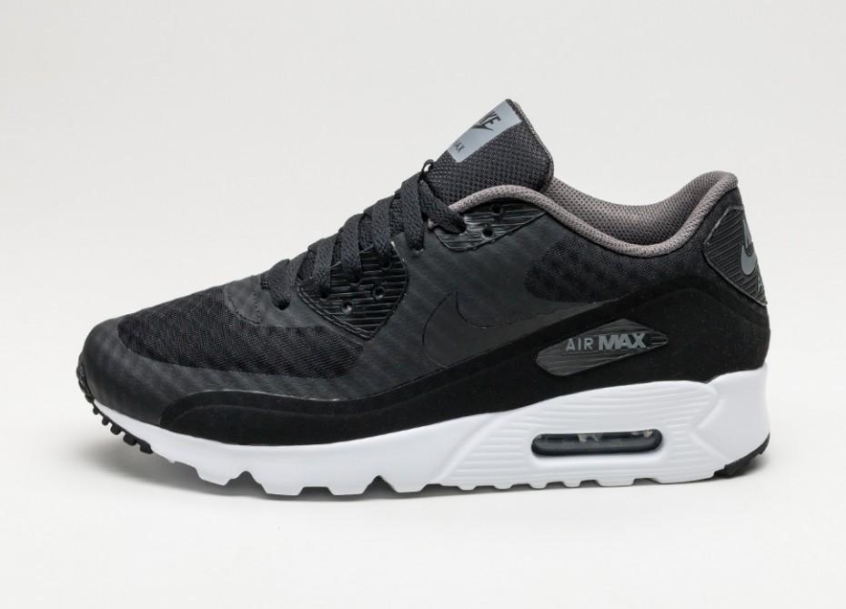 check out e03b1 2c2a5 Женские кроссовки Nike Air Max 90 Ultra Essential (Black   Black - Dark Grey  -