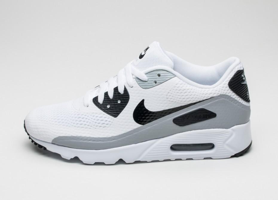 9f055e8aaf59 Женские кроссовки Nike Air Max 90 Ultra Essential (White   Black - Wolf Grey )