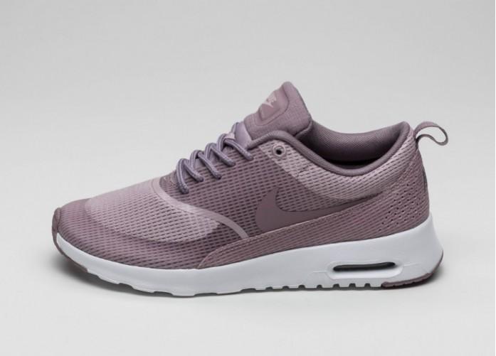 Женские кроссовки Nike Wmns Air Max Thea Txt (Plum Fog / Purple Smoke - White) | Интернет-магазин Sole