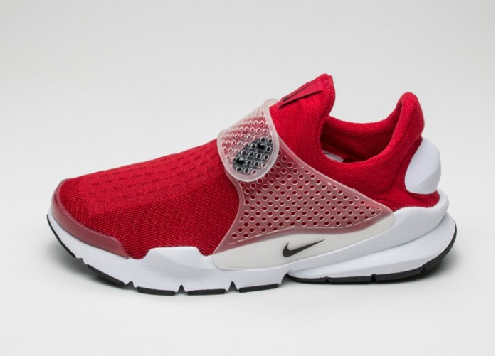 low cost e735d b3cfa Женские кроссовки Nike Sock Dart (Red / Black - White)