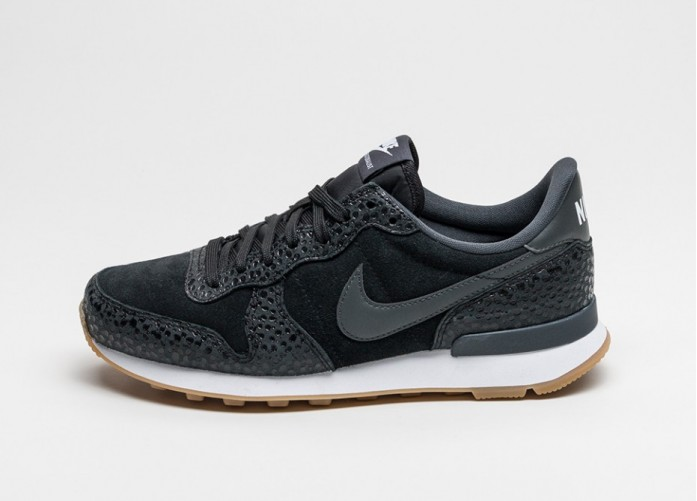 Женские кроссовки Nike Wmns Internationalist Premium (Black / Anthracite - Metallic Hematite) | Интернет-магазин Sole