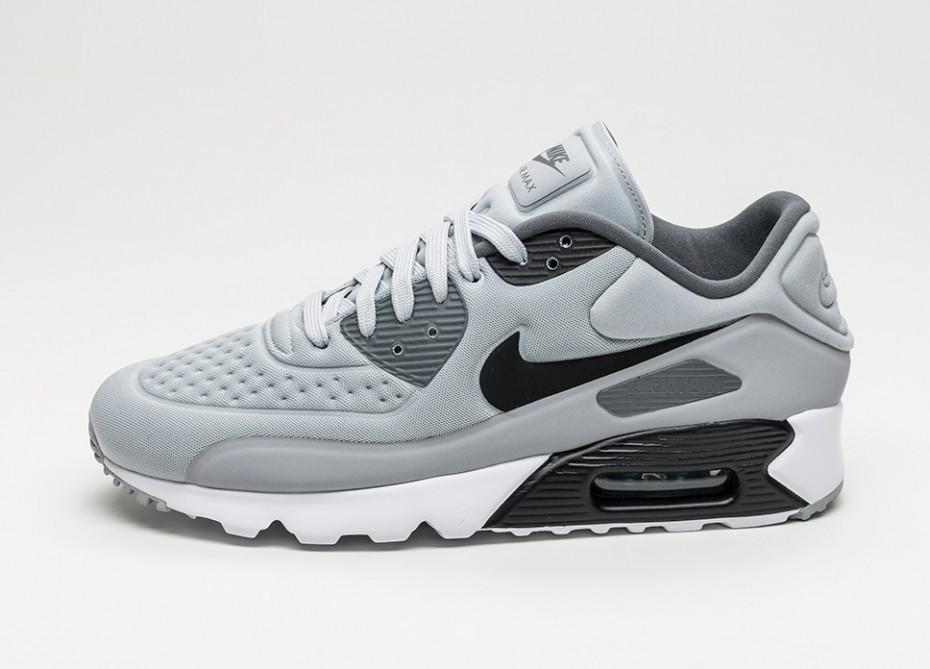 2822c612 Женские кроссовки Nike Air Max 90 Ultra SE (Wolf Grey / Black - Dark Grey