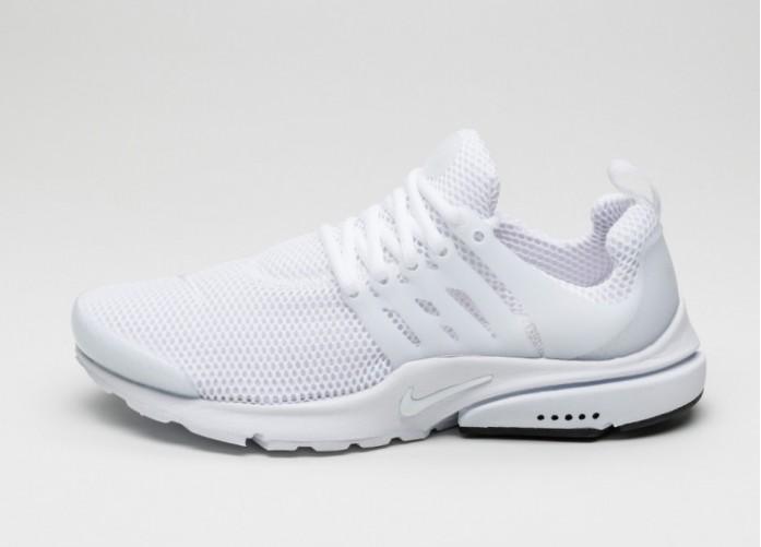 Мужские кроссовки Nike Air Presto (White / White - Black) | Интернет-магазин Sole