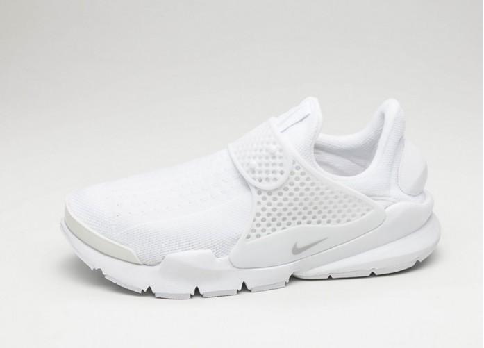 Женские кроссовки Nike Wmns Sock Dart (White / Pure Platinum) - Women - Sneaker | Интернет-магазин Sole