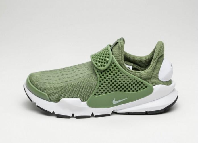 Женские кроссовки Nike Wmns Sock Dart (Palm Green / White - Black) - Women - Sneaker | Интернет-магазин Sole