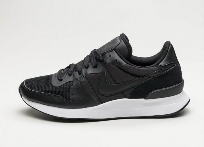 Женские кроссовки Nike Internationalist LT17 (Black / Black - White) - Women - Sneaker   Интернет-магазин Sole