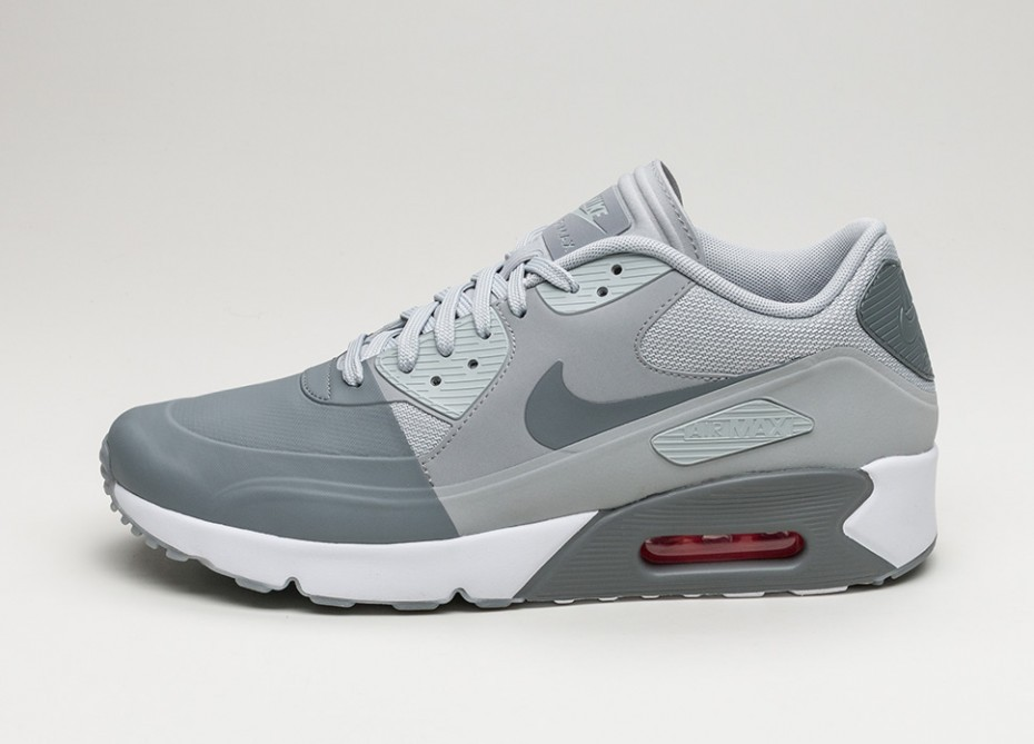 Женские кроссовки Nike Air Max 90 Ultra 2.0 SE (Cool Grey Cool Grey Wolf Grey White) Women Sneaker