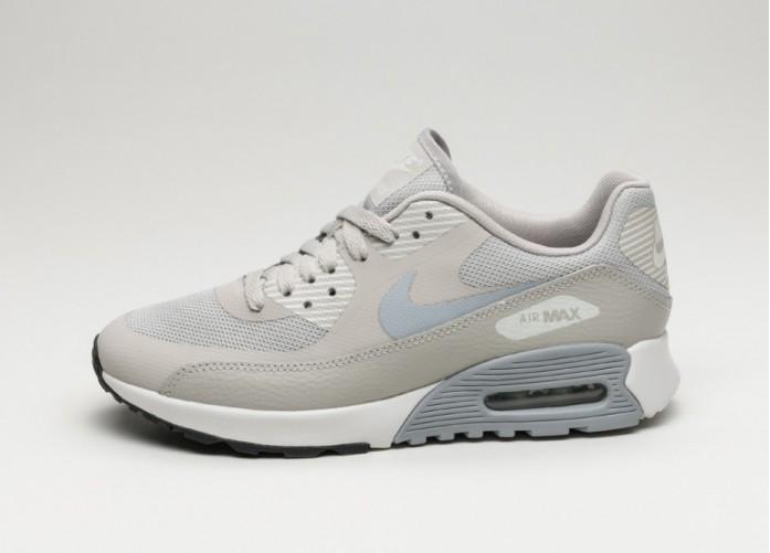 Женские кроссовки Nike Wmns Air Max 90 Ultra 2.0 (Pale Grey / Wolf Grey - Summit White - Black) - Women - Sneaker   Интернет-магазин Sole