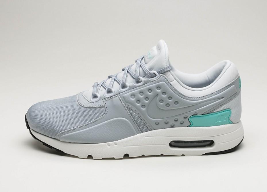 Женские кроссовки Nike Air Max Zero Premium (Pure Platinum Wolf Grey Aurora Green) Women Sneaker